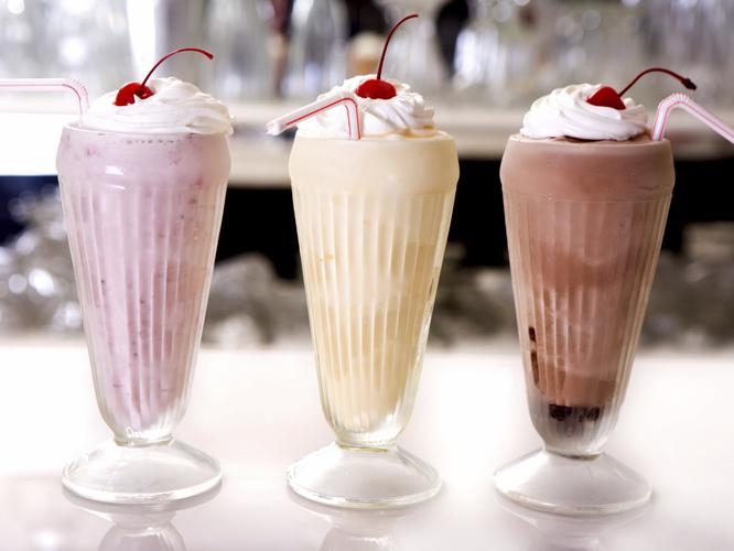 Фото молочные напитки