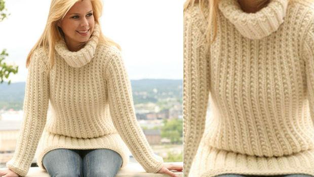 Модные и теплые свитера на осень 2016