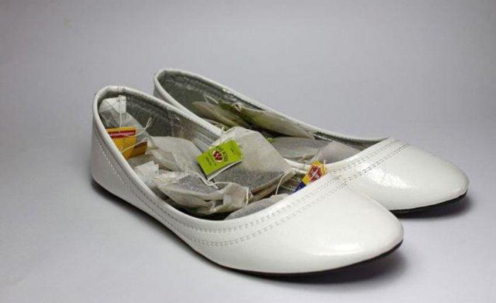 неприятным запахом обуви
