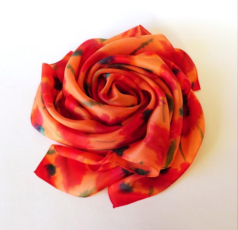 шелковый платок Анастасия Ищук 3