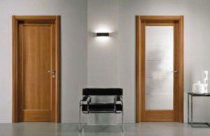 Как ухаживать за межкомнатными дверями
