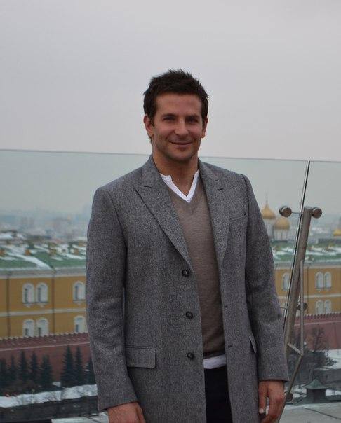 Брэдли Купер в Москве