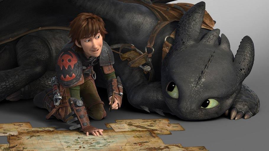 Мультик как приручить дракона 1