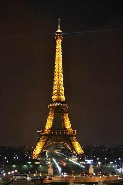 Париж город любви