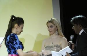 Татьяна Найник - интервью на Премии