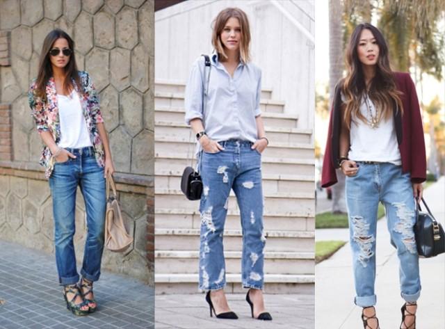 Какую одежду и обувь можно сочетать с джинсами?