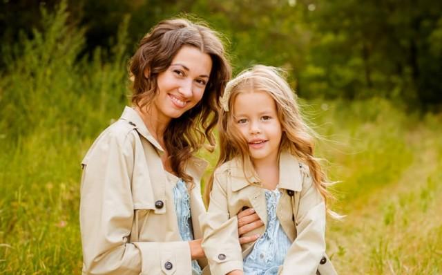 Одежда для мамы и дочки. Конкурс статей