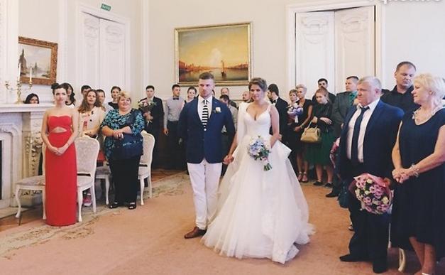 Бракосочетание Юлии Топольницкой