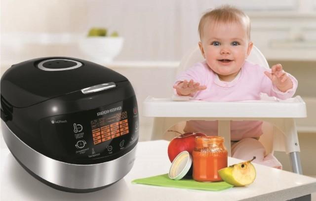 выбрать мультиварку для приготовления детского питания