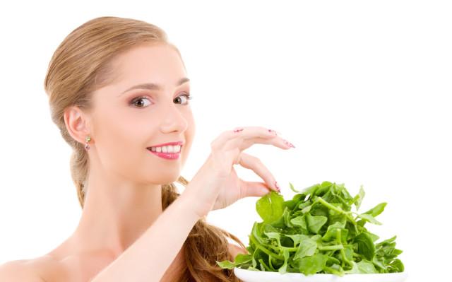 шпината для здоровья женщины