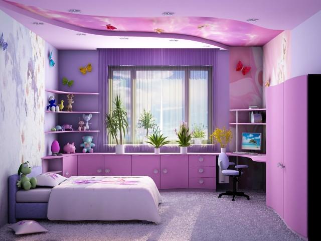 планируя ремонт в детской комнате