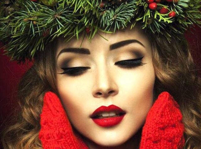 правила новогоднего макияжа