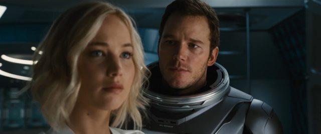 Пассажиры. Любовь в космосе