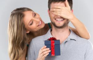 мужчины тоже любят подарки