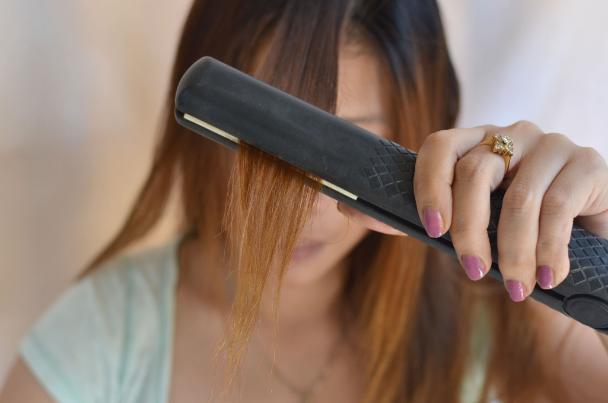 выпрямить волосы без утюжка