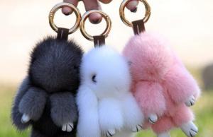 кролики на сумку