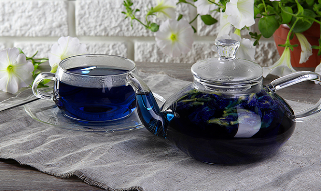 синий чай для похудения