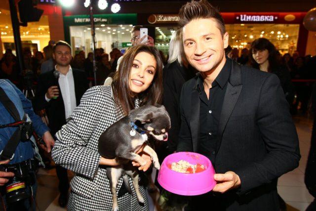 Сергей Лазарев открыл первый в России магазин для кошек и собак