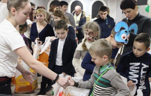 Фестиваль для детей-инвалидов - Чистое небо