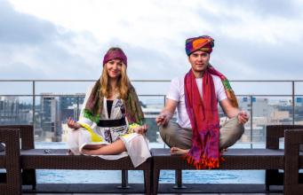 Как проходит международный день йоги в Индии?