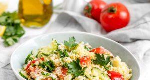 табуле - арабское блюдо из кускуса и овощей