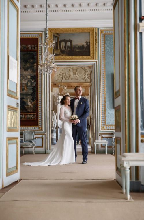 третья свадьба Юрия Андреева - роспись в ЗАГСе