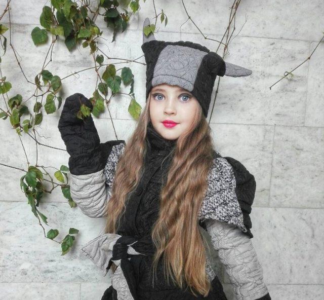 Фотомодель Стефания Зубчонок